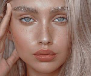 blonde, makeup, and tamara williams image