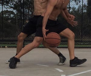 Basketball, fit, and men image