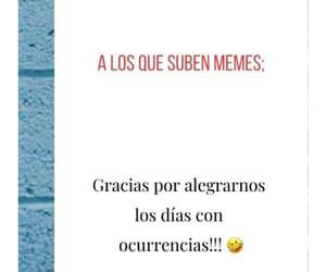 gracias, memes, and risas image
