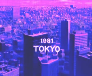 80s, cyberwave, and city image