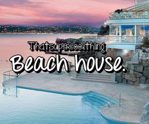 beach, paradise, and beach house image
