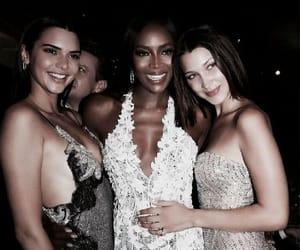 kendall jenner, bella hadid, and Naomi Campbell image