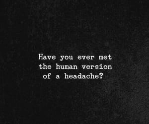 feeling, people, and headache image