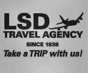 lsd, trip, and drugs image