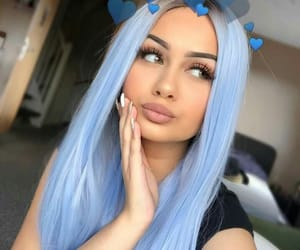 blue hair, inspirations, and tumblr image