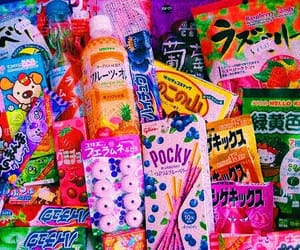 food, japan, and candy image