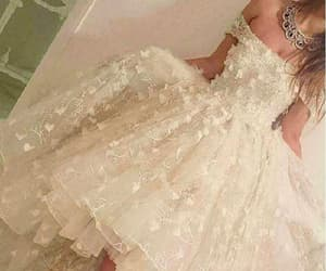white prom dress, short prom dress, and a-line homecoming dress image