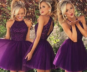 prom dress, sleeveless prom dresses, and open back prom dresses image