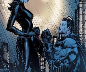 batman, catwoman, and dc comics image