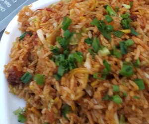 chinese, fried rice, and foody image