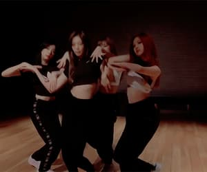 dance, rose, and jennie image