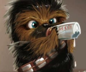 baby, chewbacca, and star wars image