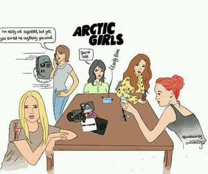 am, arctic monkeys, and girls image