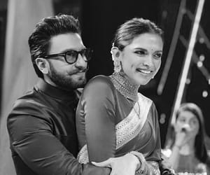 black and white, bollywood, and couple image