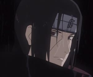 anime, itachi, and uchiha image