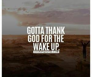 jesus christ, thanksgiving, and wake-up image