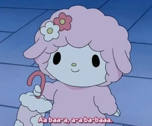 kawaii, lamb, and my melody image