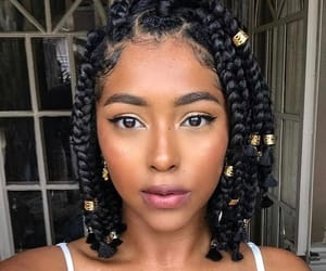 braids, beauty, and hair image