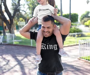 fathers day gift, family shirts, and father daughter shirts image