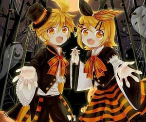 twins, vocaloid, and rin image
