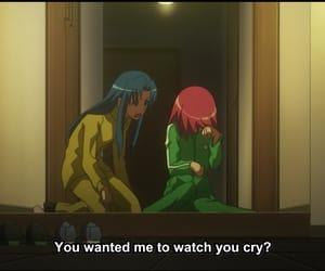 anime, cry, and girl image