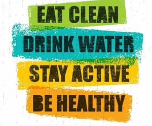 active, eat, and drink image
