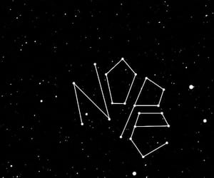 constellation, loser, and night sky image