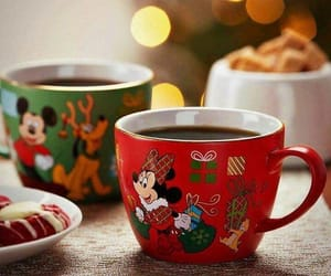 christmas, minnie, and tea image