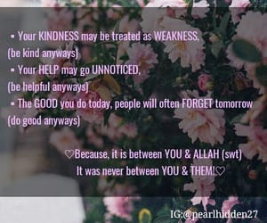 charity, islam, and kindness image