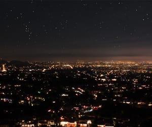 night and lights image