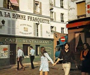 paris, vintage, and couple image