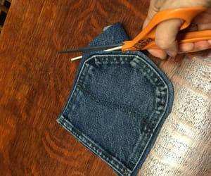 diy, jeans, and household items image