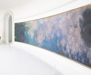 art, gallery, and monet image