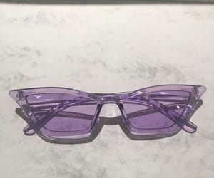 glasses and purple image