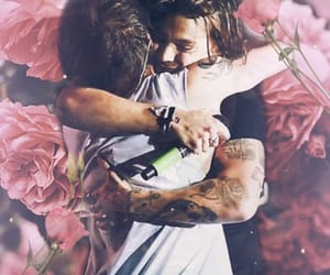 gay, roses, and larrystylinson image