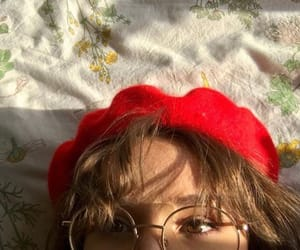 girl, glasses, and korean image