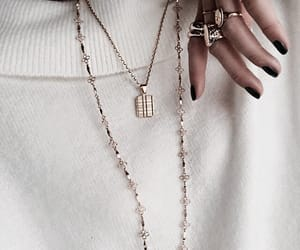 fashion, jewelry, and gold image