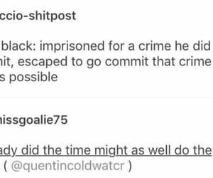 azkaban, crime, and funny image