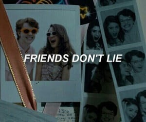 friends, lies, and stranger things image