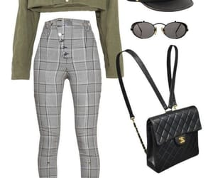 chanel bag, chic, and outfit image