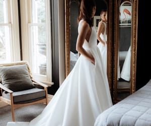 beauty, classy, and dress image