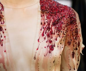 fashion, blood, and dress image