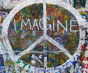 imagine and peace image