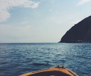 blue, boat, and capri image