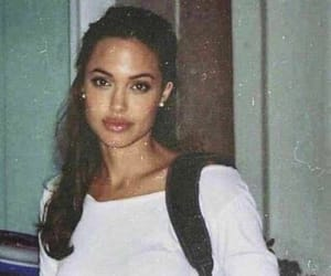 Angelina Jolie, beauty, and vintage image