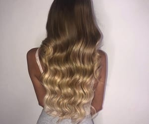 blonde, care, and curls image