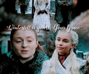 gif, game of thrones, and sansa stark image