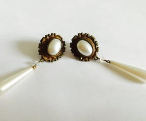 accessories, etsy, and dangle earrings image