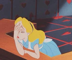 alice, disney, and mood image