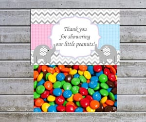 etsy, thank you for, and twins baby shower image